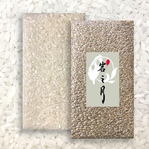 月配半年-白米(長米),糙米(圓米)2000公克裝