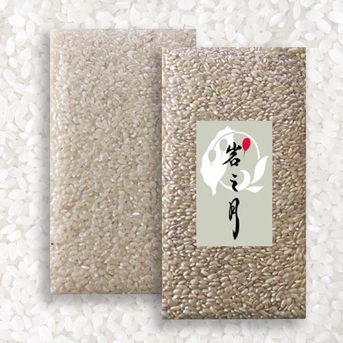 白米(圓米)2000g裝1包 + 糙米(圓米)2000g裝1包