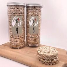 寶寶米餅 - 自然農法稻米製成 - 淨重120公克